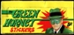 1966 Topps Green Hornet Stickers Wax Box