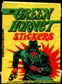 1966 Topps Green Hornet Stickers Wax Pack