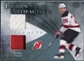 2010/11 Upper Deck Artifacts Frozen Artifacts Jersey Patch Blue #FAEL Patrik Elias /50