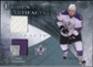 2010/11 Upper Deck Artifacts Frozen Artifacts Jersey Patch Blue #FAJJ Jack Johnson /50