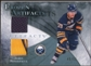 2010/11 Upper Deck Artifacts Frozen Artifacts Jersey Patch Blue #FAJP Jason Pominville /50