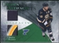 2010/11 Upper Deck Artifacts Frozen Artifacts Jersey Patch Emerald #FADB David Backes 22/25