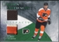 2010/11 Upper Deck Artifacts Frozen Artifacts Jersey Patch Emerald #FAJC Jeff Carter 20/25