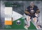 2010/11 Upper Deck Artifacts Frozen Artifacts Jersey Patch Emerald #FARM Ryan Miller 7/25