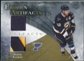 2010/11 Upper Deck Artifacts Frozen Artifacts Jersey Patch Gold #FADB David Backes 13/15