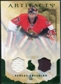 2010/11 Upper Deck Artifacts Jerseys Patches Emerald #14 Pascal Leclaire /50