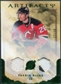 2010/11 Upper Deck Artifacts Jerseys Patches Emerald #20 Patrik Elias /50