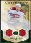 2010/11 Upper Deck Artifacts Jerseys Patches Emerald #31 Andrei Markov /50