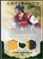 2010/11 Upper Deck Artifacts Jerseys Patches Emerald #71 Zach Bogosian /50