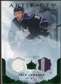 2010/11 Upper Deck Artifacts Jerseys Patches Emerald #78 Jack Johnson 14/50