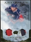 2010/11 Upper Deck Artifacts Jerseys Patches Gold #34 Derick Brassard /15