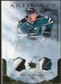 2010/11 Upper Deck Artifacts Jerseys Patches Gold #38 Joe Pavelski /15