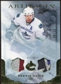 2010/11 Upper Deck Artifacts Jerseys Patches Gold #58 Henrik Sedin 6/15