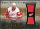 2010/11 Upper Deck Artifacts Treasured Swatches #TSHZ Henrik Zetterberg /150