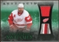 2010/11 Upper Deck Artifacts Treasured Swatches Jersey Patch Emerald #TSHZ Henrik Zetterberg 2/25