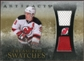 2010/11 Upper Deck Artifacts Treasured Swatches Jersey Patch Gold #TSZP Zach Parise 8/15