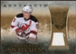 2010/11 Upper Deck Artifacts Treasured Swatches Retail #TSRZP Zach Parise