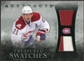 2010/11 Upper Deck Artifacts Treasured Swatches Silver #TSBG Brian Gionta 38/50