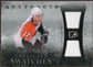 2010/11 Upper Deck Artifacts Treasured Swatches Silver #TSJC Jeff Carter 9/50