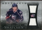 2010/11 Upper Deck Artifacts Treasured Swatches Silver #TSJV Jakub Voracek /50