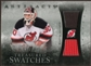 2010/11 Upper Deck Artifacts Treasured Swatches Silver #TSMB Martin Brodeur /50