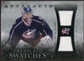 2010/11 Upper Deck Artifacts Treasured Swatches Silver #TSSM Steve Mason /50