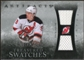 2010/11 Upper Deck Artifacts Treasured Swatches Silver #TSZP Zach Parise /50