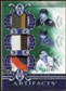 2010/11 Upper Deck Artifacts Tundra Trios Patches Emerald #TT3USA1S Rick DiPietro/Mike Modano/Patrick Kane 5/4
