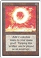 Magic the Gathering Unlimited Single Sol Ring - HEAVY PLAY (HP)