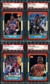 1986/87 Fleer Basketball Set (With Stickers) PSA 9 Set (Ten 10's)