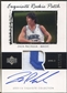 2003/04 Exquisite Collection #48 Zaza Pachulia Rookie Patch Auto #022/225