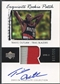 2003/04 Exquisite Collection #59 Travis Outlaw Rookie Patch Auto #012/225