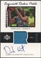 2003/04 Exquisite Collection #64 David West Rookie Patch Auto #213/225