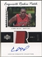 2003/04 Exquisite Collection #75 Chris Bosh Rookie Patch Auto #36/99