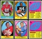 1967 Topps Football Near Complete Set 131/132 (High Grade) (25 PSA)