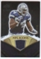 2008 Upper Deck Icons NFL Icons Jersey Silver #NFL7 DeMarcus Ware /150