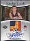 2004/05 Exquisite Collection #55 Andris Biedrins Rookie Patch Auto #037/225