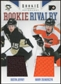 2011/12 Panini Rookie Anthology Rookie Rivalry Dual Jerseys #36 Dustin Jeffrey/Harry Zolnierczyk