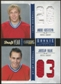 2011/12 Panini Rookie Anthology Draft Year Combo Jerseys #9 Andrei Kostitsyn/Jaroslav Halak