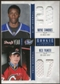 2011/12 Panini Rookie Anthology Draft Year Combo Jerseys #39 Wayne Simmonds/Nick Palmieri