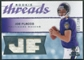 2008 Upper Deck SP Rookie Threads Rookie Threads #RTJF Joe Flacco /199
