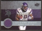 2008  Upper Deck Game Jerseys #UDGJSR Sidney Rice