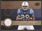 2008 Upper Deck Game Jerseys Gold #UDGJJA Joseph Addai /200