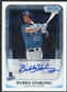 2011 Topps Bowman Chrome Bubba Starling RC Autograph #BCAP-BS