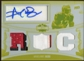 2010 Topps Triple Threads Printing Plates Yellow #112A Arrelious Benn Jersey Autograph 1/1