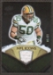 2008 Upper Deck Icons NFL Icons Jersey Gold #NFL5 A.J. Hawk /50