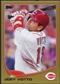 2013 Topps Gold #19 Joey Votto 1828/2013