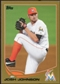 2013 Topps Gold #255 Josh Johnson 1756/2013