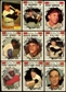 1961 Topps Baseball Near Complete Set (High Grade)