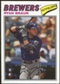 2012 Topps Archives Cloth Stickers #RB Ryan Braun
